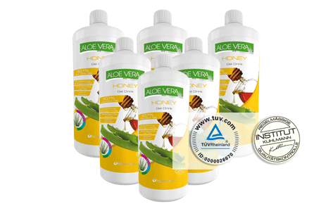 Aloe Vera Honey Gel Drink Sixpack